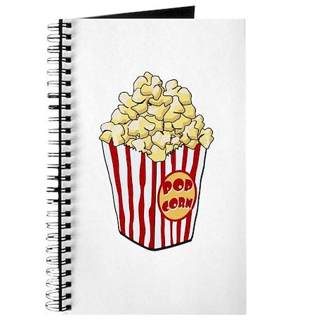 Cartoon Popcorn Bag Journal