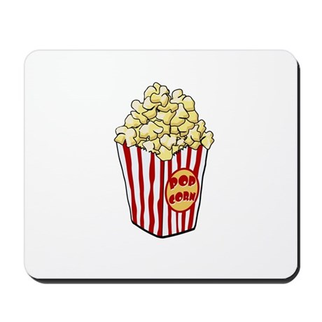 Cartoon Popcorn Bag Mousepad