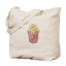 Cartoon Popcorn Bag Tote Bag