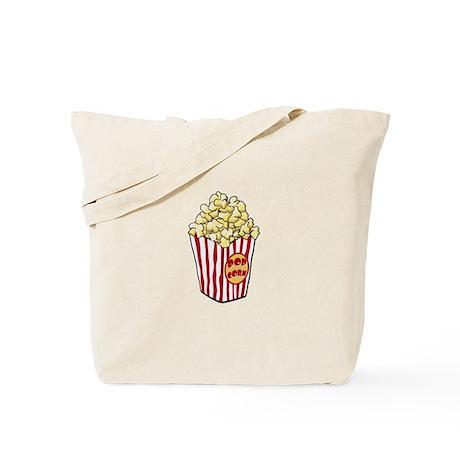 Cartoon Popcorn Bag Tote Bag