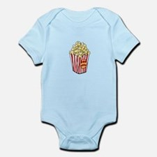 Cartoon Popcorn Bag Infant Bodysuit