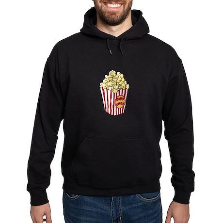 Cartoon Popcorn Bag Hoodie (dark)