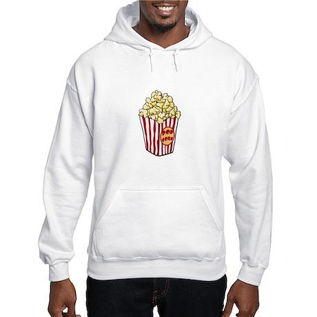 Cartoon Popcorn Bag Hooded Sweatshirt