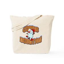 Copper Mountain Snowboarder Tote Bag