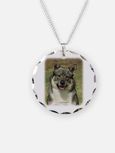 Swedish Vallhund 9K001D-15 Necklace