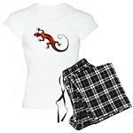 Fire Red Gecko Women's Light Pajamas