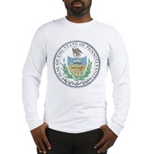 Vintage Pennsylvania Seal Long Sleeve T-Shirt