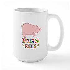 Fun Pigs Rule Mug