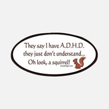 ADHD Squirrel Patches