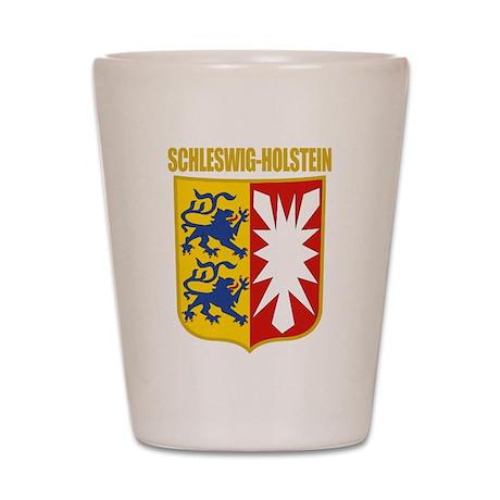 Schleswig-Holstein COA Shot Glass