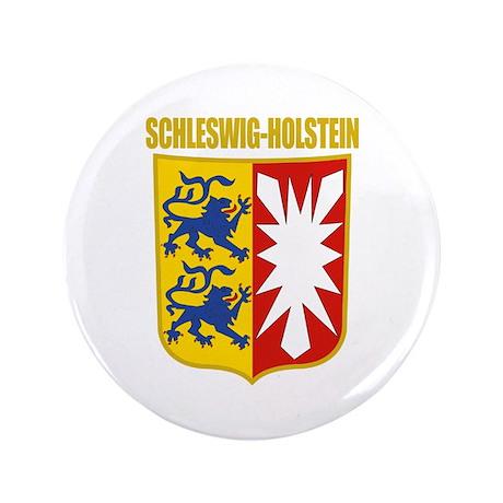 """Schleswig-Holstein COA 3.5"""" Button"""