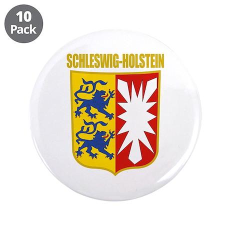 """Schleswig-Holstein COA 3.5"""" Button (10 pack)"""