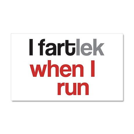 Funny I FARTlek © Car Magnet 20 x 12
