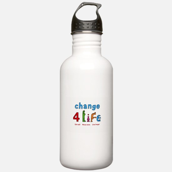 Funny Healthy living Water Bottle