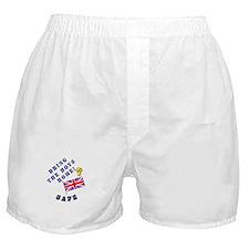 Bring the Boys Home Safe - UK Boxer Shorts