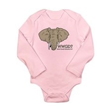 What Would Ganesha Do? Long Sleeve Infant Bodysuit