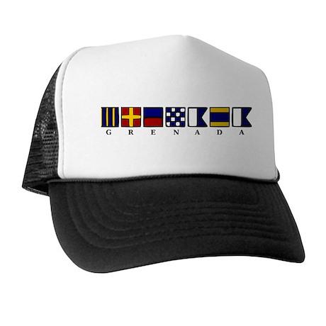 Nautical Grenada Trucker Hat