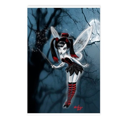 Dark Gothic Fairy Postcards (Package of 8)