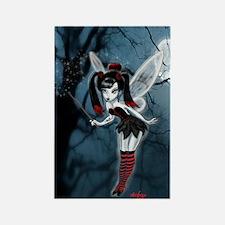 Dark Gothic Fairy Rectangle Magnet