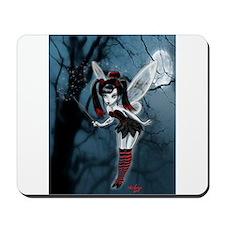 Dark Gothic Fairy Mousepad