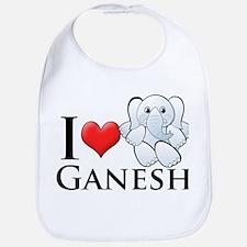 I Heart Ganesh Bib