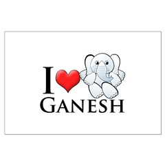I Heart Ganesh Posters