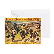 Daring Western Girls Greeting Cards (Pk of 10)