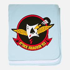 VA-152 Fighting Aces baby blanket