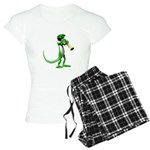 Blues Trumpet Gecko Women's Light Pajamas