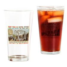 Professor Challenger's Lost World Drinking Glass
