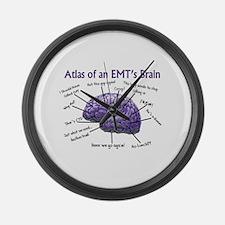 EMT/Paramedics Large Wall Clock