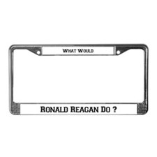 What Would Reagan Do? License Plate Frame