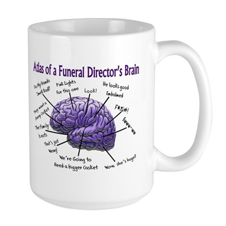 Funeral Director/Mortician Large Mug