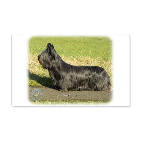 Skye Terrier 9C066D-16 22x14 Wall Peel