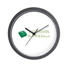Accountants Do It Wall Clock