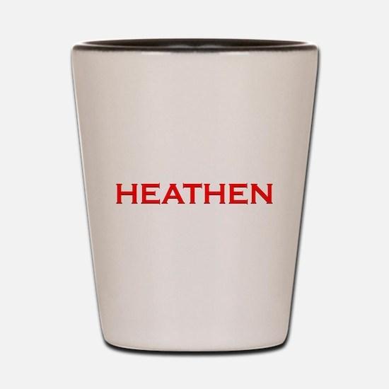 Unique Heathen Shot Glass