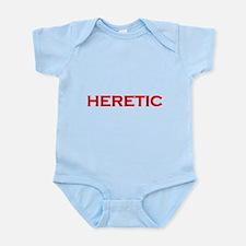Cute Free thinker Infant Bodysuit