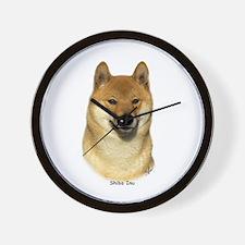 Shiba Inu 9T060D-009 Wall Clock