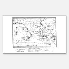 Wanderings of Aeneas Map Decal