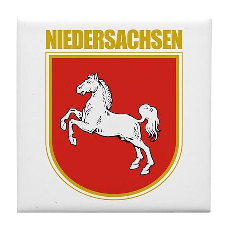 Niedersachsen (Lower Saxony) Tile Coaster