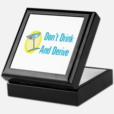 Drink and Derive Keepsake Box