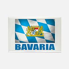 Bavaria Rectangle Magnet