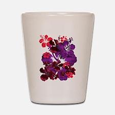 Hibiscus Shot Glass