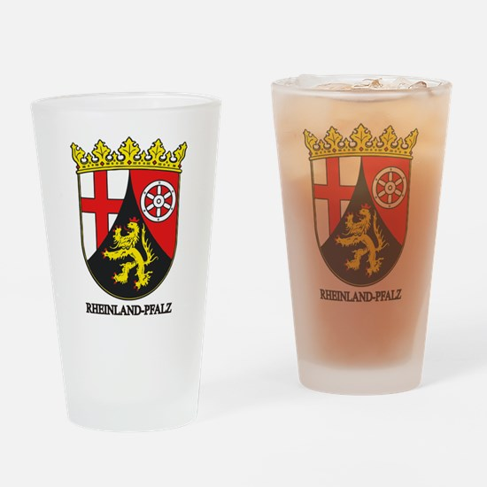 Rheinland-Pfalz COA Drinking Glass