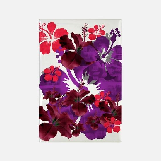 Hibiscus Rectangle Magnet