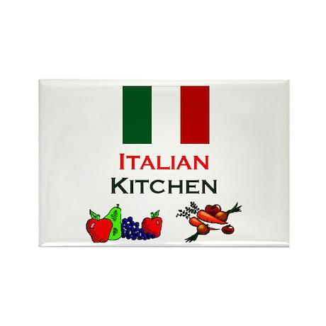 "Italian Kitchen Magnet (3""x2"")"