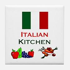 Italian Kitchen Tile Coaster