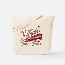 Wright Bros. Flight School (c Tote Bag