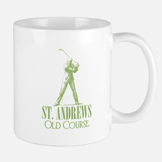 Vintage Golf (Old Course) Mug