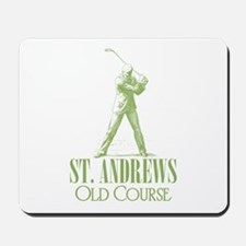 Vintage Golf (Old Course) Mousepad